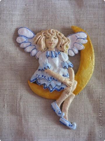 Лепка, Роспись: ангелочек фото 1