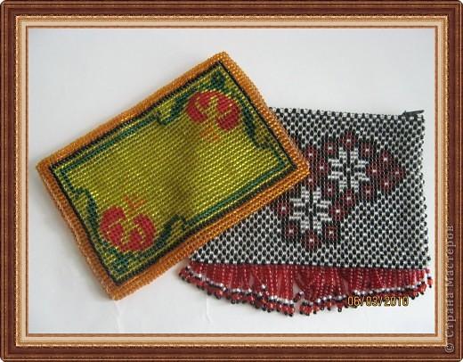 Бисероплетение: Мои бисерные кошельки фото 1