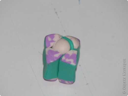 раскатываем(пластик FIMO запекается в духовке 110*С-30мин)  фото 8