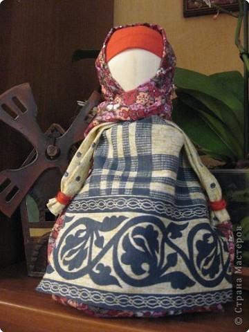 Кукла на деревянной ложке