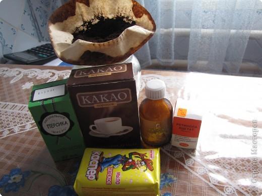 Мыловарение: Шоколадно-кофейный скраб фото 2