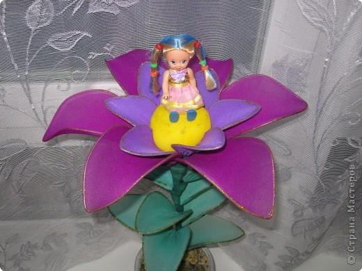 Дюймовочка в цветке сделать своими руками