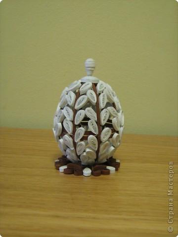 Вот и вербное яичко готово