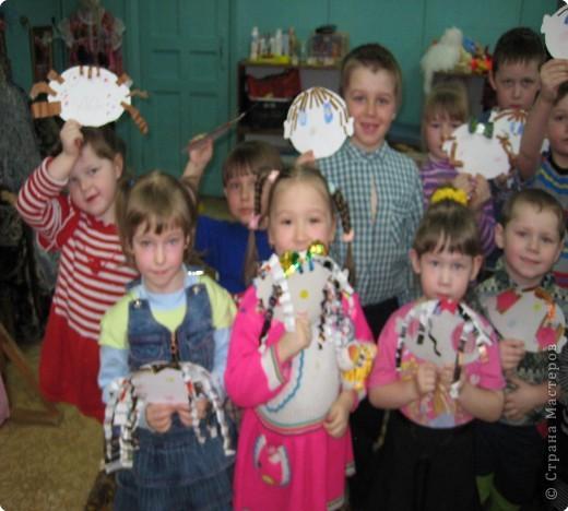 Благодаря идеям МАСТЕРИЦ вот какие портреты получились у наших ребят! фото 2