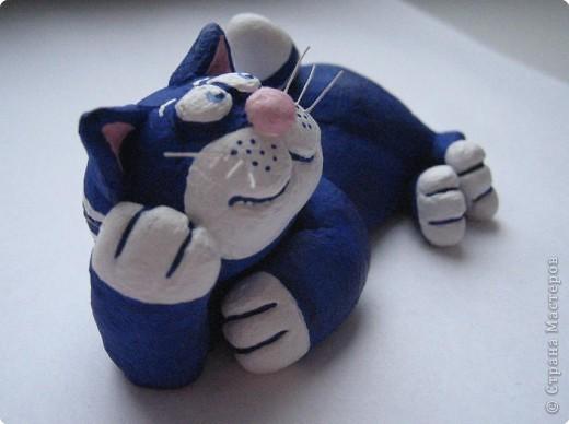 Лепка: кот моряк фото 2