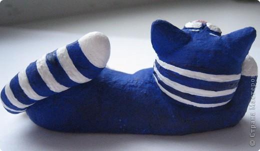 Лепка: кот моряк фото 4