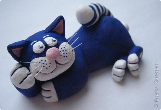 Лепка: кот моряк фото 3