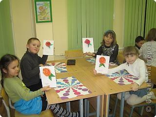 Такими  розами можно украсить открытку или плакат к празднику. фото 16