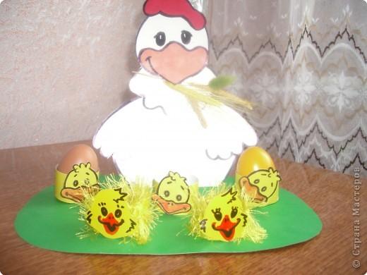 Как сделать поделку-курицу