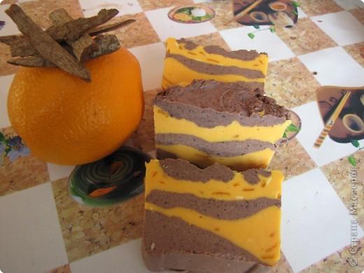 Мыловарение: корица-апельсин