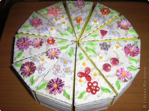 тортик для девчонок класса к 8 марта! фото 1