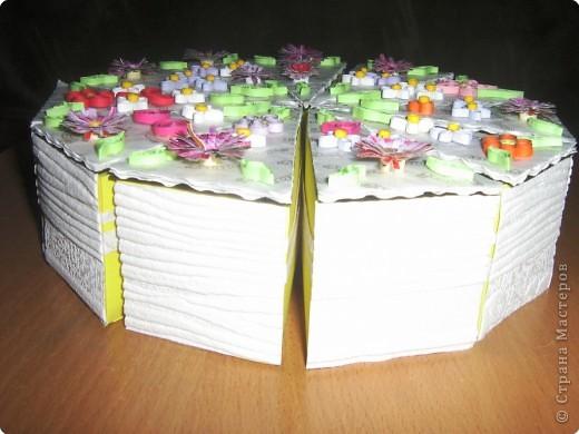 тортик для девчонок класса к 8 марта! фото 2