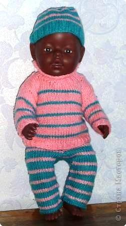 На радость дочке я создала целый гардероб для ее любимой куклы. фото 2