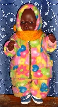 Одежка для любимой куклы дочки. фото 2