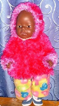 На радость дочке я создала целый гардероб для ее любимой куклы. фото 1