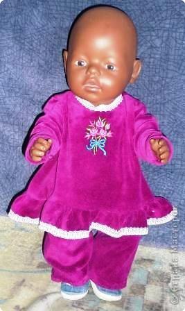 Одежка для любимой куклы дочки. фото 3