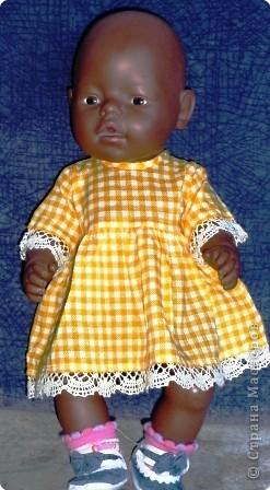 Одежка для любимой куклы дочки. фото 4