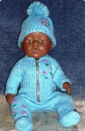 На радость дочке я создала целый гардероб для ее любимой куклы. фото 5