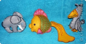 слоник, золотая рыбка, каркуша фото 1