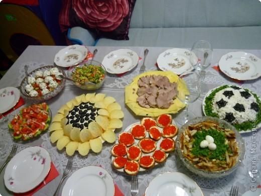 Украшение стола своими руками на день рождения с фото
