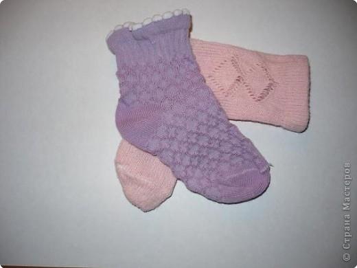 Продолжаю терзать детские носки..... фото 2