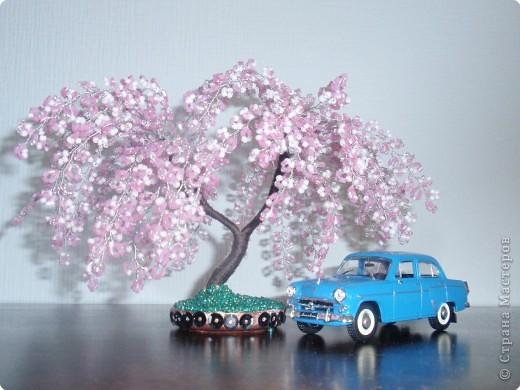Бисероплетение деревья и цветы из бисера фото 1.