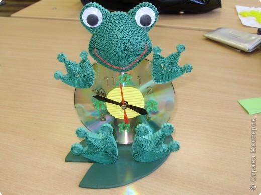 Часики-лягушка-квакушка