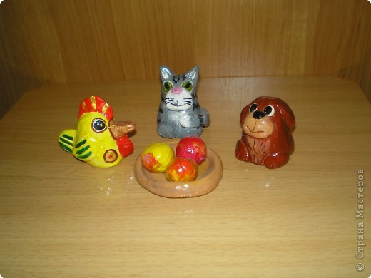 Лепка: Глиняные игрушки фото 4