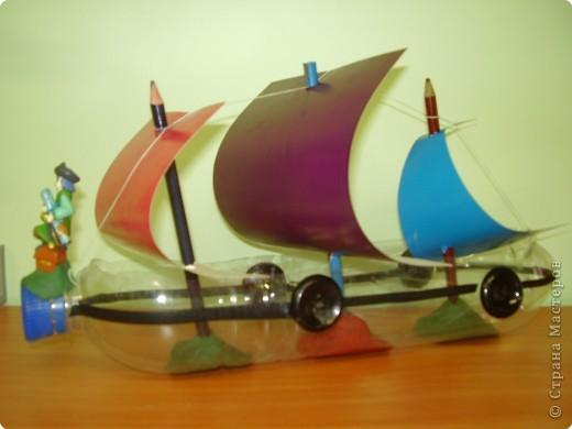 Корабль своими руками из бутылки