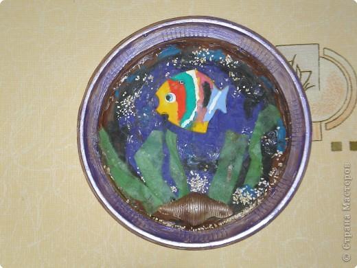Поделки из пластилина на тарелки 43