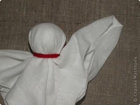 """Моя кукла """"Столбушка"""". Старалась делать по правилам. Но современные материалы все таки меняют образ.  фото 9"""