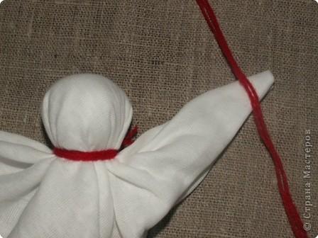 """Моя кукла """"Столбушка"""". Старалась делать по правилам. Но современные материалы все таки меняют образ.  фото 10"""