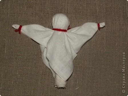 """Моя кукла """"Столбушка"""". Старалась делать по правилам. Но современные материалы все таки меняют образ.  фото 11"""