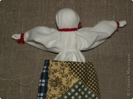 Куклы Шитьё Кукла Столбушка МК Ткань фото 15