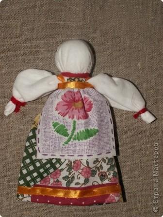 """Моя кукла """"Столбушка"""". Старалась делать по правилам. Но современные материалы все таки меняют образ.  фото 16"""