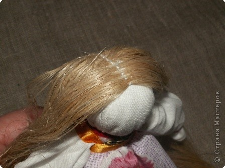 """Моя кукла """"Столбушка"""". Старалась делать по правилам. Но современные материалы все таки меняют образ.  фото 17"""