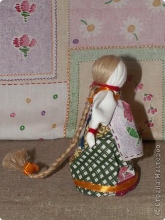 """Моя кукла """"Столбушка"""". Старалась делать по правилам. Но современные материалы все таки меняют образ.  фото 19"""