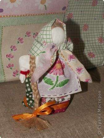 """Моя кукла """"Столбушка"""". Старалась делать по правилам. Но современные материалы все таки меняют образ.  фото 2"""