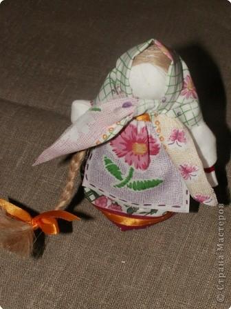 """Моя кукла """"Столбушка"""". Старалась делать по правилам. Но современные материалы все таки меняют образ.  фото 20"""