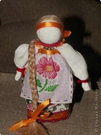 """Моя кукла """"Столбушка"""". Старалась делать по правилам. Но современные материалы все таки меняют образ.  фото 1"""