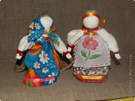 Куклы Шитьё Кукла Столбушка МК Ткань фото 21