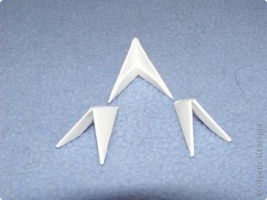 Мастер-класс Поделка изделие Оригами китайское модульное Мастер-класс Пингвин Бумага фото 3