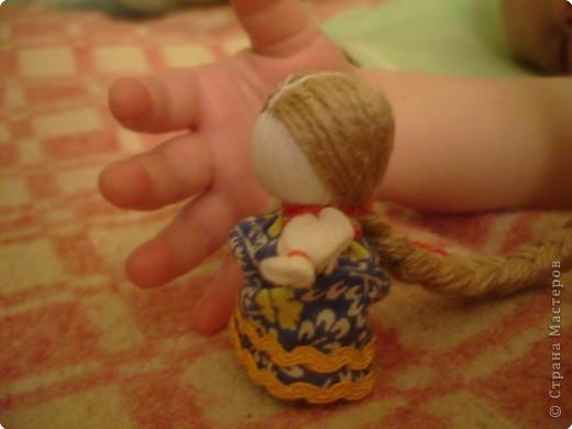 """Сшила таких куколок """"на Счастье"""" своим девочкам - Владе и Злате. Спасибо Татьяне (tatvasni) за ее МК. фото 10"""