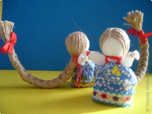 """Сшила таких куколок """"на Счастье"""" своим девочкам - Владе и Злате. Спасибо Татьяне (tatvasni) за ее МК. фото 12"""
