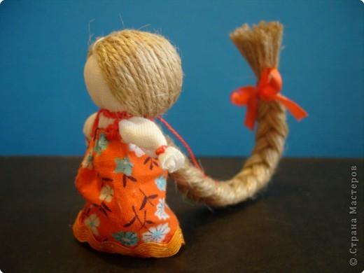 """Сшила таких куколок """"на Счастье"""" своим девочкам - Владе и Злате. Спасибо Татьяне (tatvasni) за ее МК. фото 14"""
