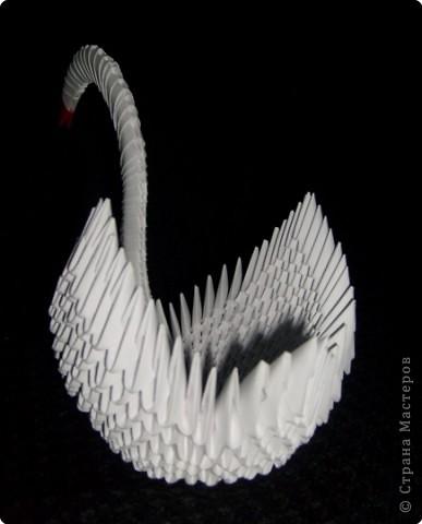 Моя первая работа в технике модульное оригами! фото 2