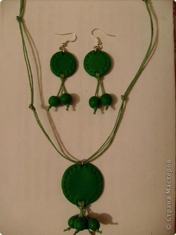 Лепка: Весенний зелёный комплект.