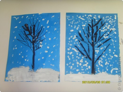 Рисование и живопись: Уходи зима! фото 1