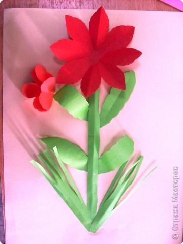 Готовый цветок фото 2