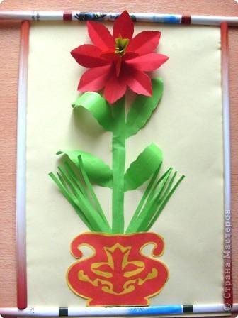 Готовый цветок фото 6
